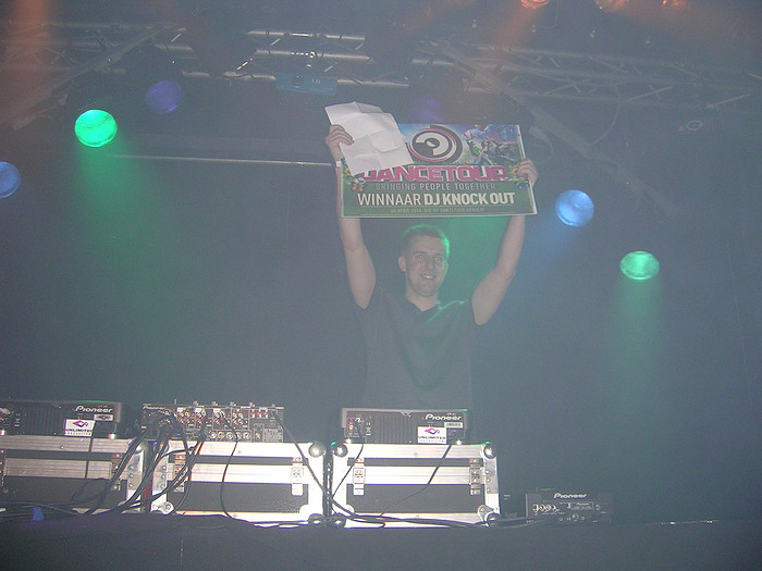 DJ Spare - Winner of the Dancetour DJ Knockout 2010